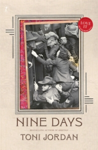 Angela Savage on Nine Days by Toni Jordan