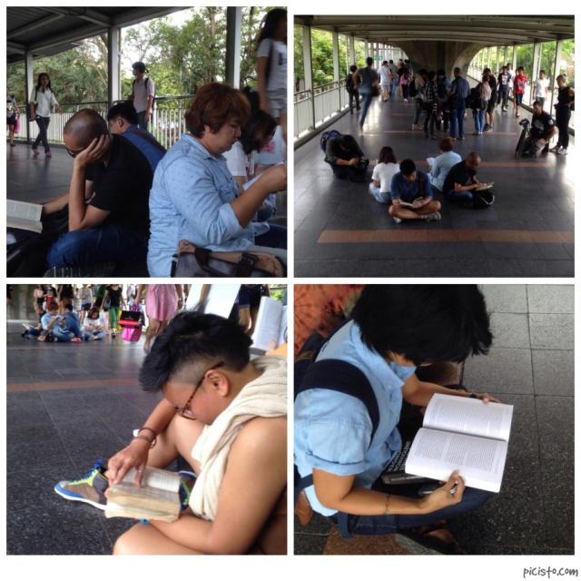 Reading protests BKK