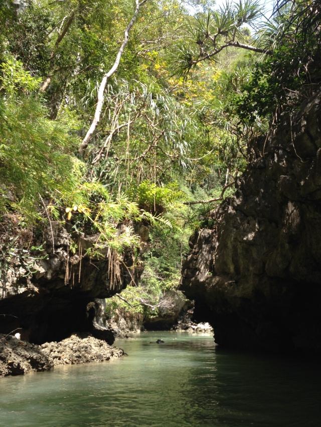 The hidden world inside the island