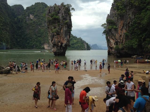 James Bond Island today: no longer the place for a secret lair