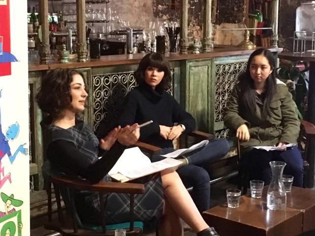 Roj Amedi, Michelle Law & Wendy Chen, EWF